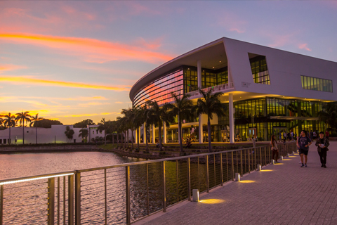 University of Miami student center photo