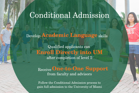 IEP conditional admission banner